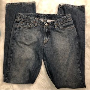 Lucky Brand Dungarees Wonder Jean Long Size 8
